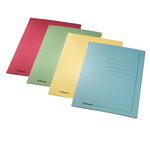 Cartelline 3 lembi - con stampa - 295 gr - 25x35 cm - giallo - Esselte - conf. 25 pezzi