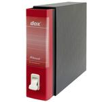 Registratore Dox 2 - dorso 8 cm - protocollo 23x34 cm - rosso - Esselte
