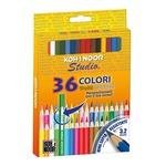 Matite colorate Studio - Ø mina 2,8mm - colori assortiti Koh.I.Noor - Astuccio 36 pastelli colorati