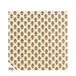 Rotolo Cartarivesto Rex 58 - 50x500 cm - adesivo - lavabile - giglio marrone - Rex Sadoch