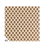 Rotolo Cartarivesto Rex Taco  - 49x300 cm - adesivo - lavabile - giglio marrone - Rex Sadoch