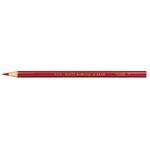 Supermina pastelli colorati - esagonali Ø 7,6mm lunghezza 18cm e mina Ø 3,8mm - rosso carminio - Giotto