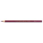 Supermina pastelli colorati - esagonali Ø 7,6mm lunghezza 18cm e mina Ø 3,8mm - porpora - Giotto