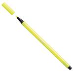 Pennarello Pen 68  punta  feltro - tratto 1,0mm - giallo neon - Stabilo - conf. 10 pezzi