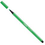 Pennarello Pen 68  punta feltro - tratto 1,00mm - verde neon - Stabilo - conf. 10 pezzi