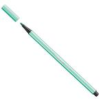 Pennarello Pen 68  punta feltro -  tratto 1,00mm - verde ghiaccio - Stabilo - conf. 10 pezzi