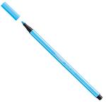 Pennarello Pen 68 - blu fluo - punta 1,0mm - Stabilo