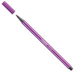 Pennarello Pen 68  punta feltro - tratto 1,00mm - lilla - Stabilo - conf. 10 pezzi