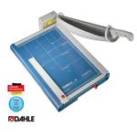 Taglierina professionale a leva 867 - 513x365 mm - 460 mm (A3) - capacità taglio 35 fg - con blocca lama - blu - Dahle