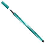 Pennarello Pen 68  punta in feltro - tratto 1,00mm - blu turchese  - Stabilo - conf. 10 pezzi