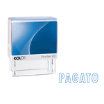 Timbro Printer 20/L G7 - PAGATO - autoinchiostrante - 14x38 mm - Colop®