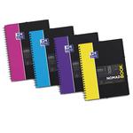 Blocco spiralato Nomadbook - 5mm con margine - 240 x 310mm - 90gr - 80 fogli - Oxford