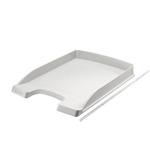 Vaschetta portacorrispondenza Leitz Plus Slim - 25,5x36x3,7 cm - grigio - Leitz