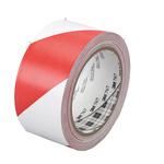 Nastro segnalatore adesivo Scotch® - 50 mm x 33 m - bianco/rosso