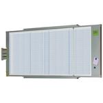 Lavagna di pianificazione annuale Gannt Performance Plus - magnetico - 60x185 cm - Nobo