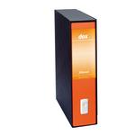 Registratore new dox 2 arancione dorso 8cm f.to protocollo