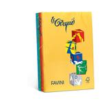 Carta Lecirque - A4 - 160 gr - mix 5 colori intensi - Favini - conf. 250 fogli