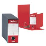 Registratore Oxford G81 - dorso 8 cm - memorandum 23x18 cm - rosso - Esselte