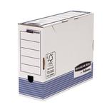 Scatola archivio Bankers Box System - A4 - 26x31,5cm - dorso 10 cm - Fellowes
