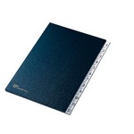Classificatore numerico 1/12 - 24x34 cm - blu - Fraschini
