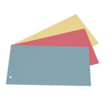 Separatori - cartoncino Manilla 200 gr - 12,5x23 cm - azzurro - Cartotecnica del Garda - conf. 200 pezzi