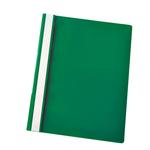 Cartellina ppl con fermafogli 21x29,7 verde report file esselte