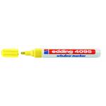 Marcatore edding 4095 giallo fluo p.conica - gesso liquido