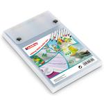 Marcatore per tessuto 4600 - punta tonda 1,0mm - 10 colori assortiti - Edding