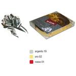 Nastro Svelto Strip Reflex Metal - argento 19 - diametro 120mm - 48mm - Bolis - scatola 30 nastri