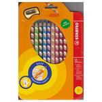 Astuccio 12 pastelli colorati Easycolor - per mancini - Stabilo