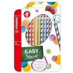 Pastelli colorati Easycolors - Ø mina 4,20mm - per destrimani - Stabilo - astuccio 12 colori