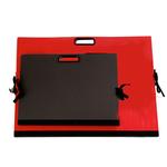 Cartella portadisegni - con maniglia - 70x50 cm - rosso - Brefiocart