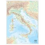 Carta geografica Italia - scolastica - murale - Belletti
