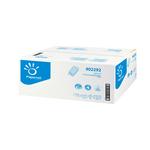 Asciugamani piegati a V special - 2 veli - 20 gr - 24x21 cm - goffratura a onda - bianco - Papernet - conf. 210 pezzi