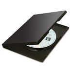 Custodia Slim per 2 DVD - nero - Fellowes - scatola 10 pezzi