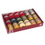 Bobine nastro Raphia - colori assortiti Christmas - 20mt - Bolis - conf. 18 bobine