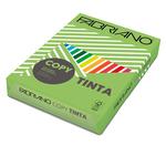 Carta Copy Tinta - A4 - 80 gr - colori forti verde pisello - Fabriano - conf. 500 fogli