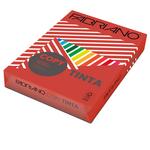 Carta Copy Tinta - A4 - 80 gr - colori  forti rosso - Fabriano - conf. 500 fogli