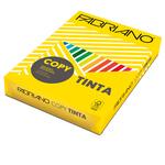 Carta Copy Tinta - A4 - 80 gr - colori  forti giallo - Fabriano - conf. 500 fogli