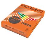 Carta Copy Tinta - A4 - 80 gr - colori  forti arancio - Fabriano - conf. 500 fogli