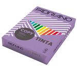 Carta Copy Tinta - A4 - 80 gr - colori forti violetto - Fabriano - conf. 500 fogli