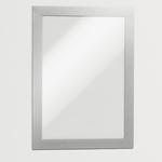 Cornice magnetica Duraframe® - A5 - 15x21 cm - silver - Durable