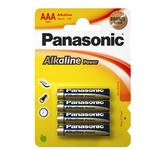Pile Ministilo AAA - 1,5V - alcalina - Panasonic - blister 4 pezzi