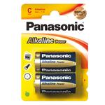 Pile Mezzatorcia C - 1,5V - alcalina - Panasonic - blister 2 pezzi