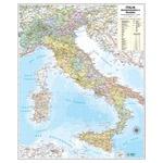 Carta geografica Italia amministrativa e stradale - murale - 67x85 cm - Belletti