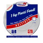 Piatti fondi Deka - PP - ø 220 mm - DOpla - confezione da 1 kg