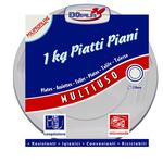 Piatti piani Deka - PPL - diametro 220 mm - Dopla - confezione da 1 kg