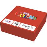 Tovaglioli - 33x33 cm - 2 veli - rosso - Dopla - conf. 50 pezzi