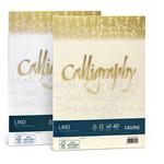 Carta Calligraphy Lino - A4 - 120gr - bianco 01 - Favini - conf. 50fg