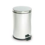 Pattumiera a pedale - diametro 29,2 cm - altezza 44,5 cm - 20 L - acciaio inox - StilCasa
